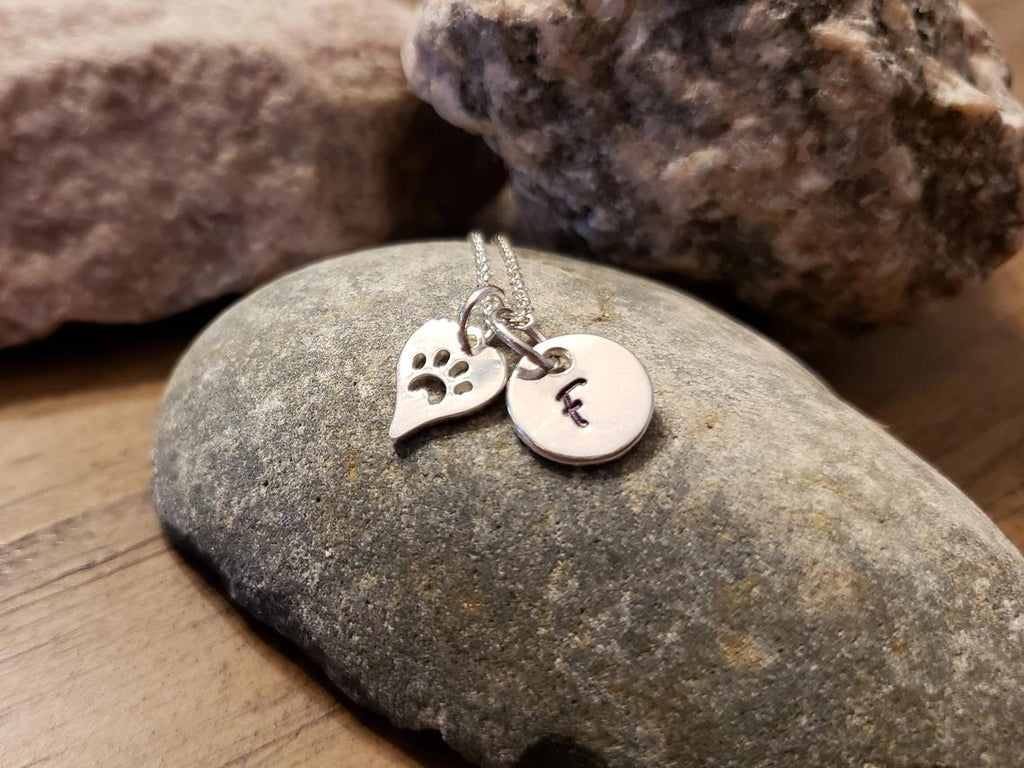 Pet Memorial Necklace, Pet Remembrance Jewelry - Remember Me