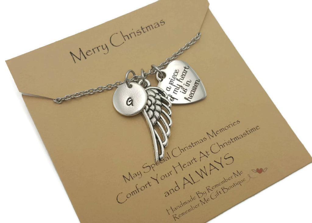 Christmas Memorial - Christmas Remembrance Gifts - Remember Me Jewelry - Remember Me