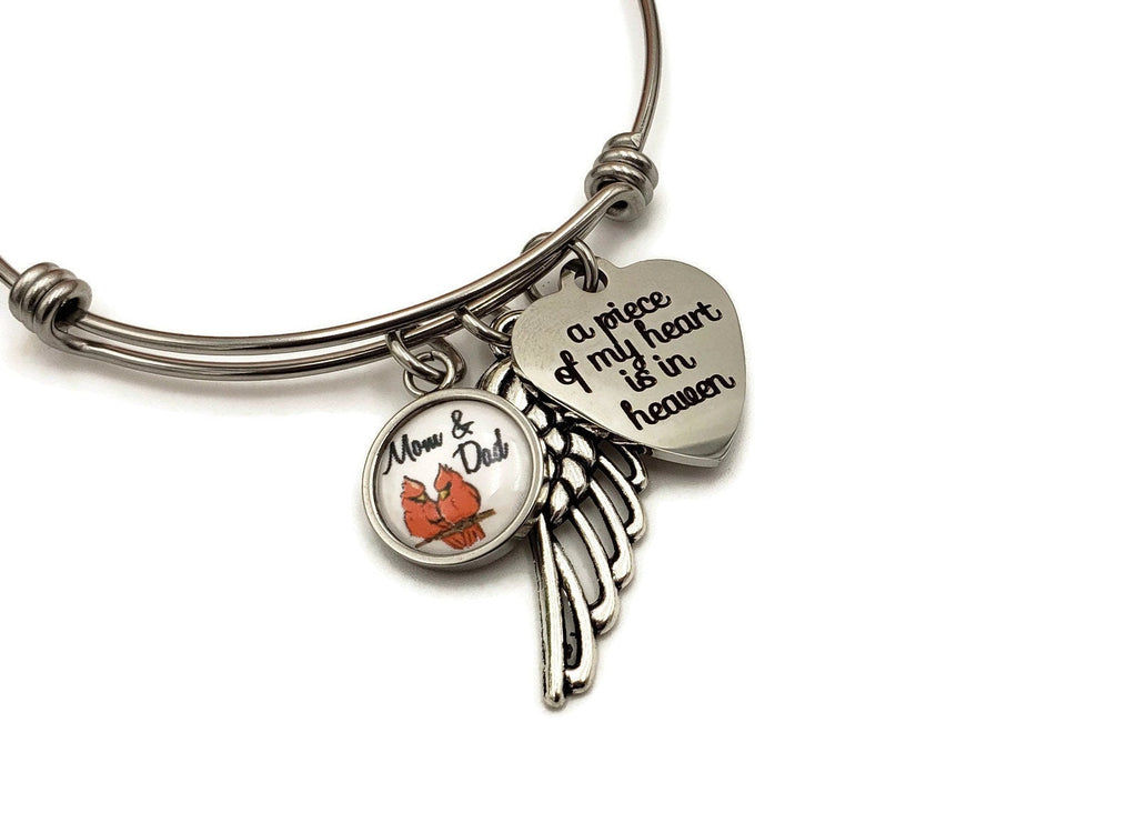 Cardinal Memorial Gifts - Loss of Parents - Remember Me Jewelry - Remember Me