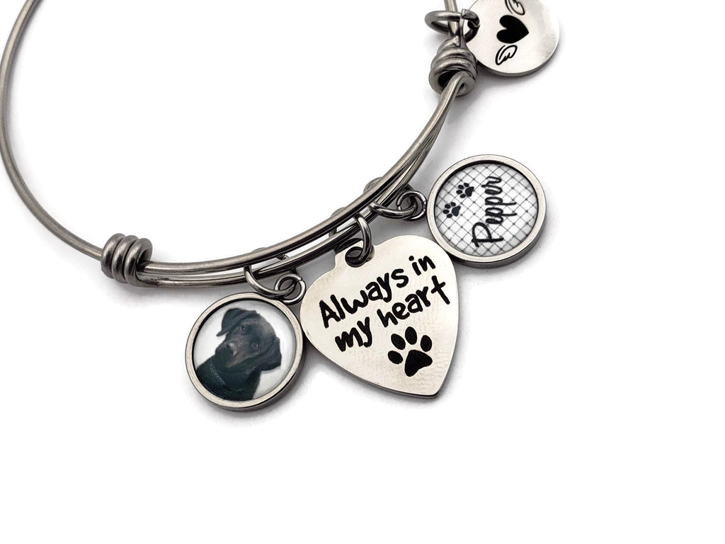 Pet Memorial Bracelet - Pet Remembrance Gifts - Remember Me Jewelry - Remember Me