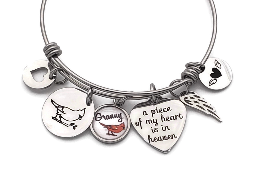 Cardinal Memorial - Personalized Memorial Bracelets - Remember Me Gifts - Remember Me