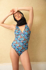 ZINA One Piece - BLUE BIRD