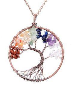 FREE Chakra Tree of Life Necklace - Meditation Up -