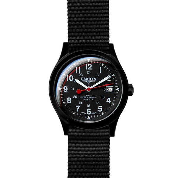 Dakota Field Watch Medium 7766-9 - NicholsonWatchCo