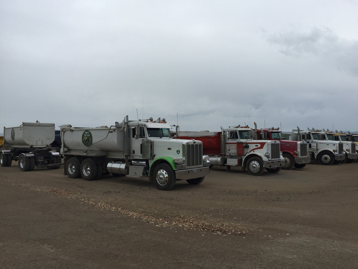 Trucking & A Rock Yard is a Win/Win For Customers