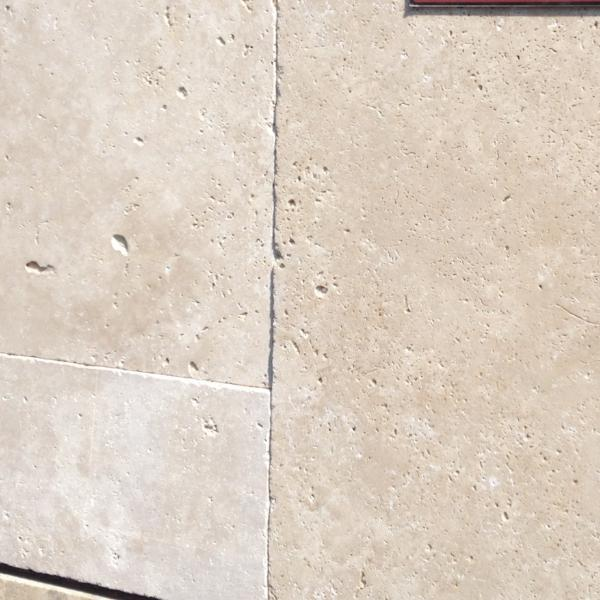 Paver -Travertine Antique Ivory Full 80199