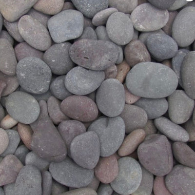 "1""-2""  Plum Mexican Pebbles 80191"