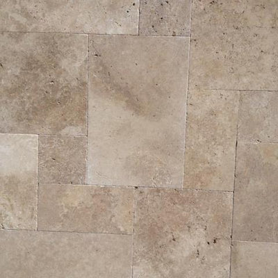 Paver -Travertine Antique Walnut Full Pallet Discount Pricing