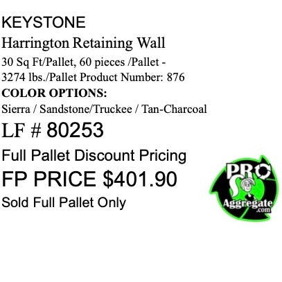 Keystone Harington Wall SRW 80253