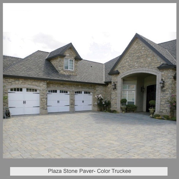 Plaza Stone-Color Truckee  6x6  6x9 Pattern by SF