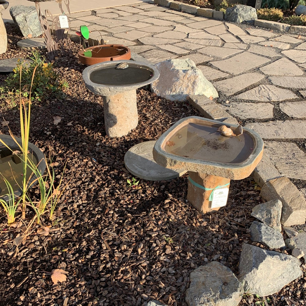 Granite Boulder Bird Baths 90213