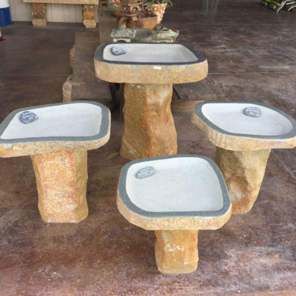 Birdbaths -Granite