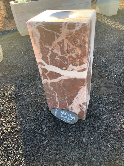 Fountain- 90273 Red Onyx Polished