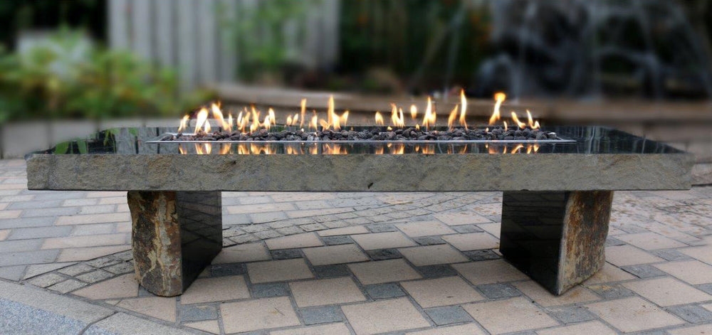 Fire Feature -Polished Basalt Fire Table