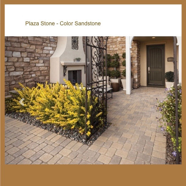 Plaza Stone-Color Sandstone  6x6  6x9 Pattern by SF