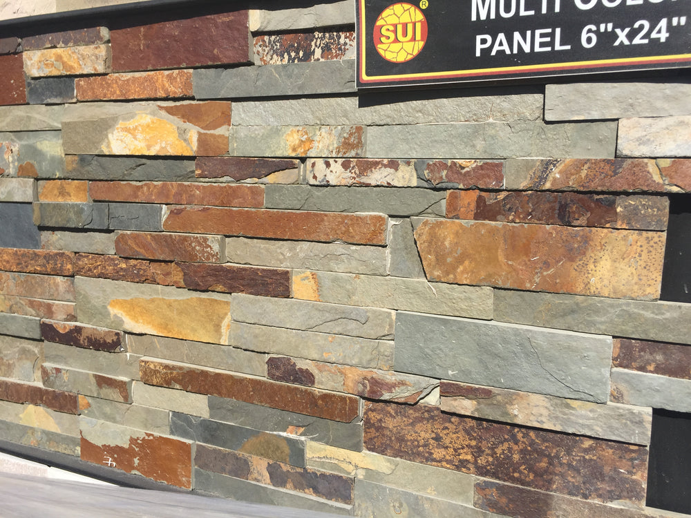 Multi Color Veneer Panel