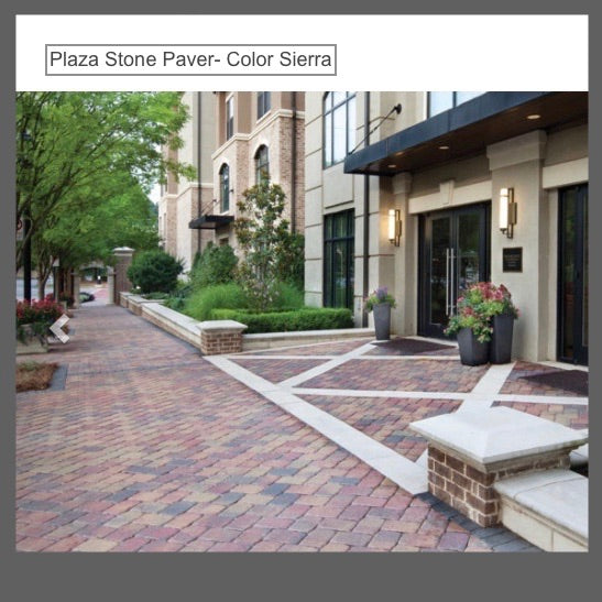 Plaza Stone-Color Sierra  6x6  6x9 Pattern by SF