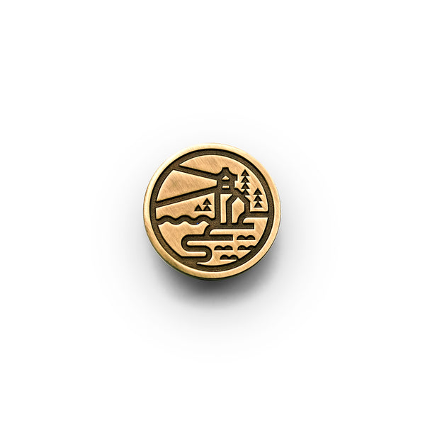 Acadia Lapel Pin - National Park Pin Series