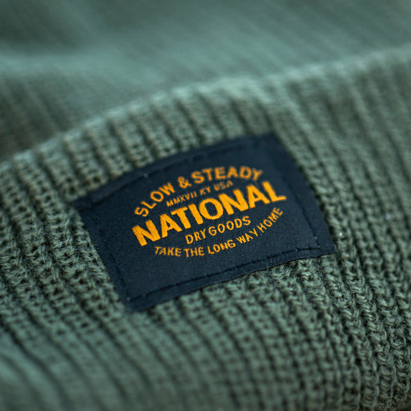 National Slow and Steady Knitted Beanie