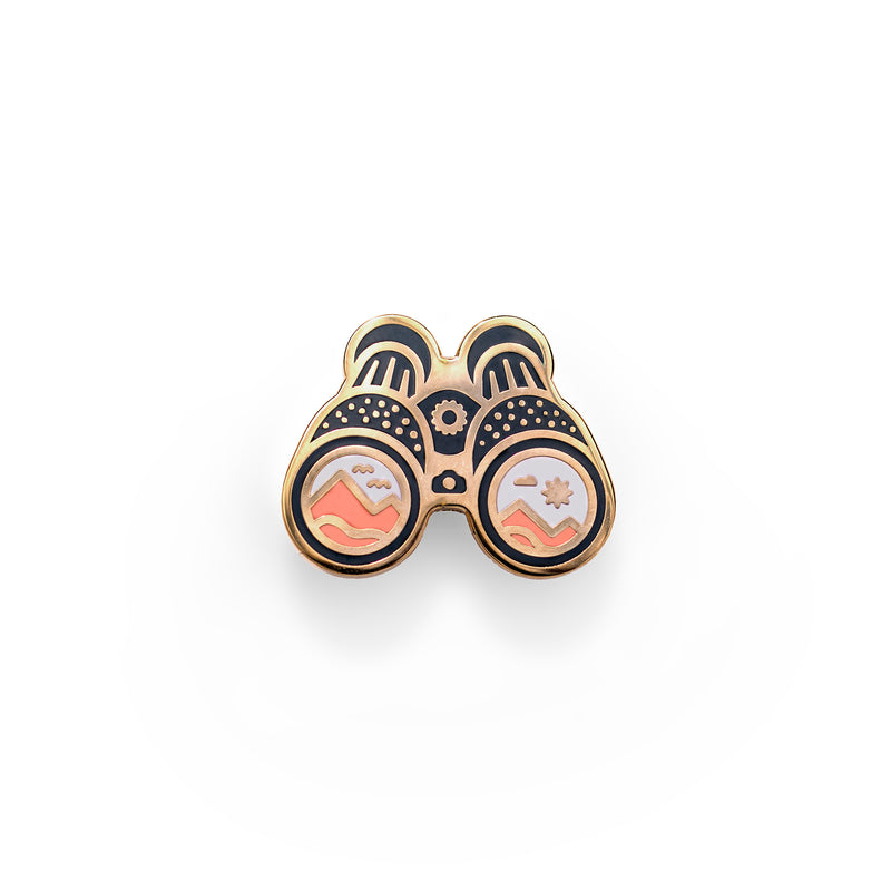 Binocular Vision - Outdoor Pin Series - Enamel Lapel Pin