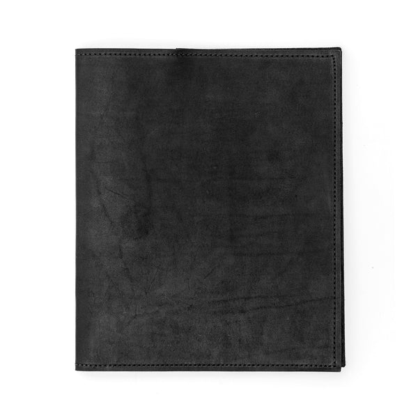 Black Large Leather Moleskin Journal