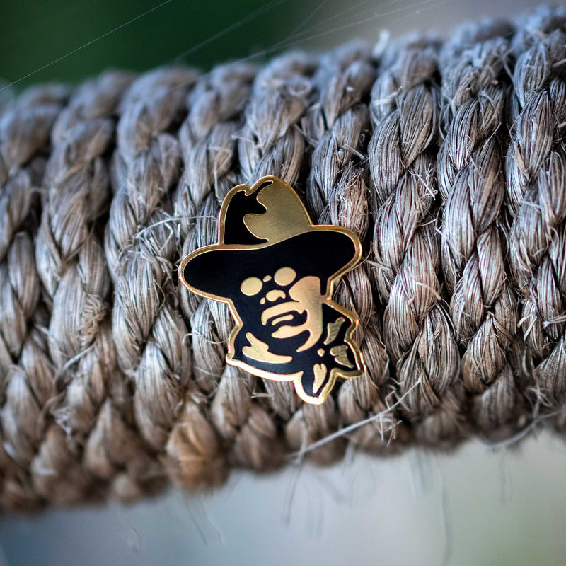 Teddy Roosevelt Lapel Pin - National Park Pin Series