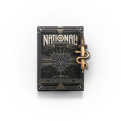 Conqueror 3D lapel pin and National Card Deck Gift Set