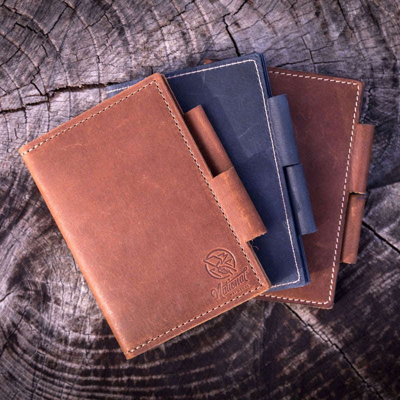 Leather Field Note Wallet + Journal