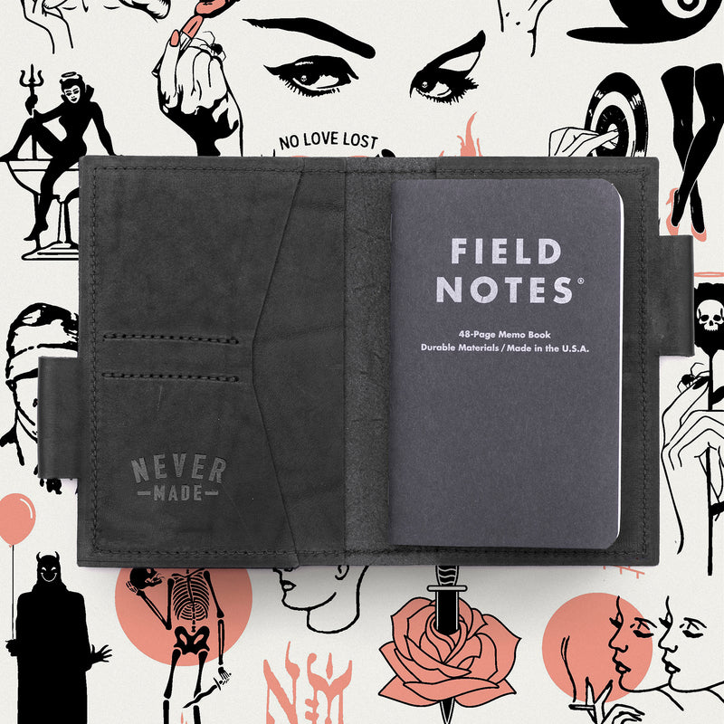 Never Made Field Notes Wallet Collab