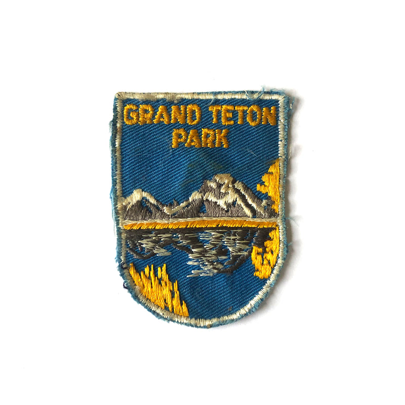Grand Teton Vintage Patch