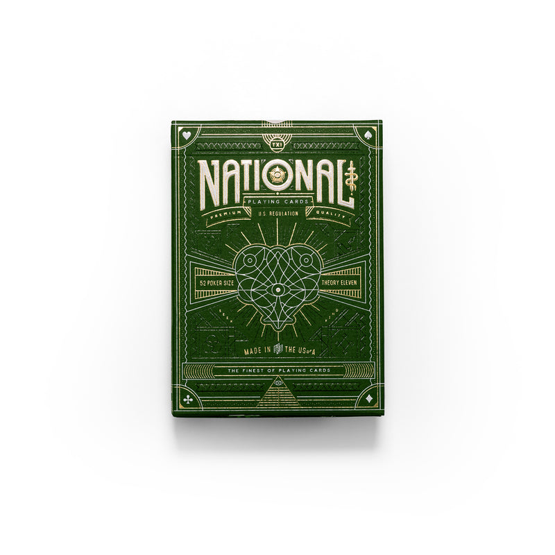 National Card Deck - Green