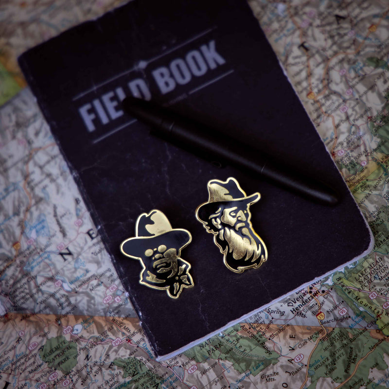 John Muir Lapel Pin - National Park Pin Series