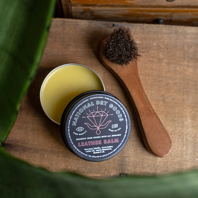 All Organic Leather Balm