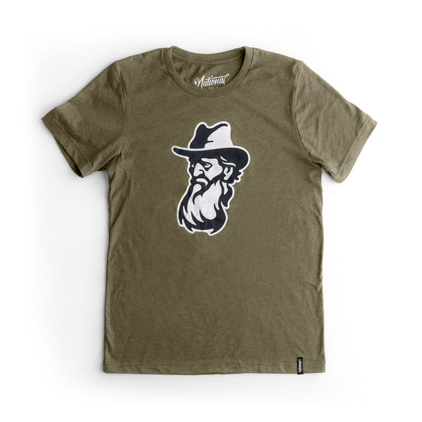 John Muir Tee - Heather Green