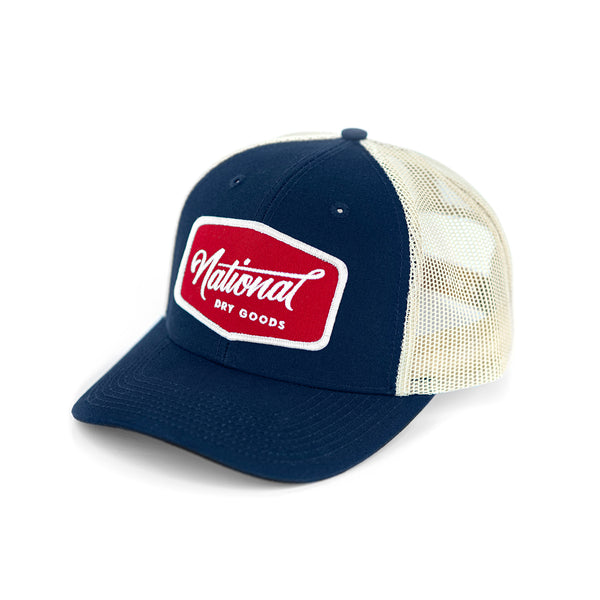 National Patch Trucker Cap
