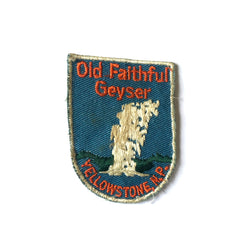 Old Faithful Vintage Patch