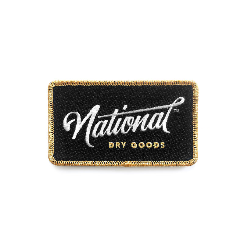 National Iron-On Patch