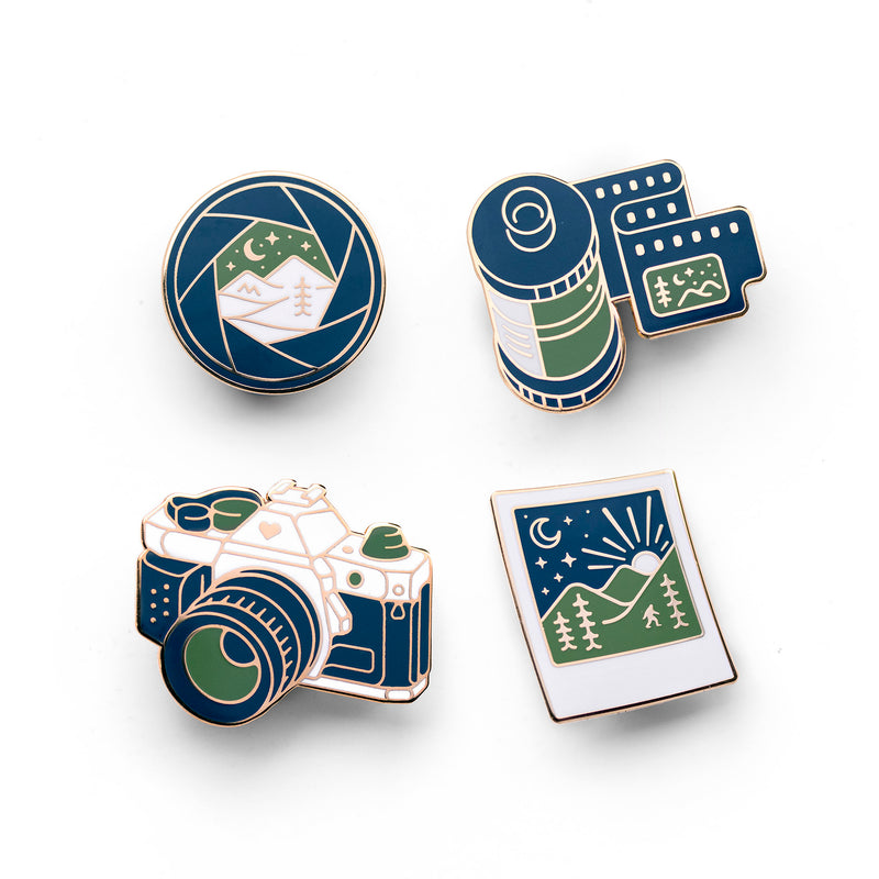 Photography Pin Set