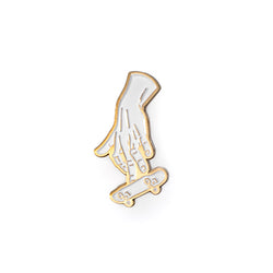 Shred Lightly - Soft Enamel Lapel Pin