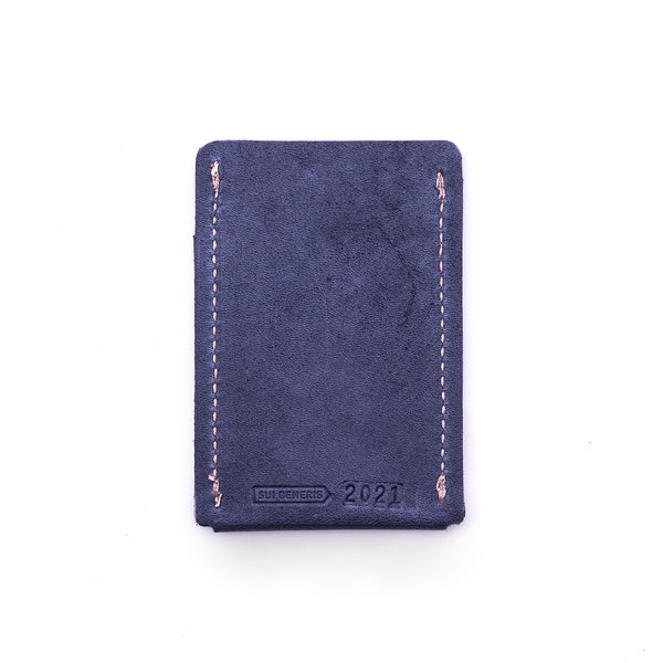 Limited Edition - Blue Slim Leather Wallet