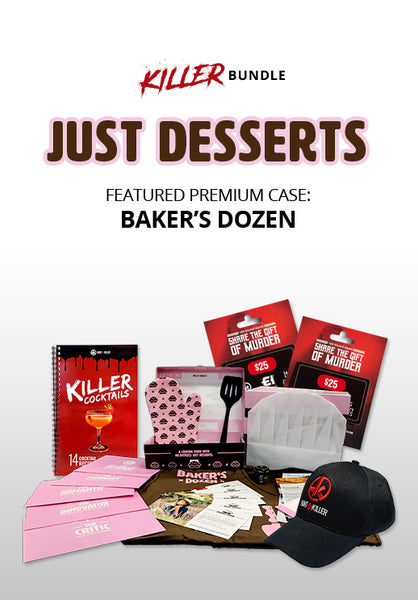 Hunt A Killer: Just Desserts Bundle