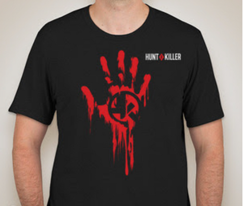 Hunt A Killer x Canvas Tri-blend Tee - I Hunt Serial Killers