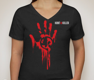 "Hunt A Killer: ""I Hunt Serial Killers"" Women's V-Neck Shirt"