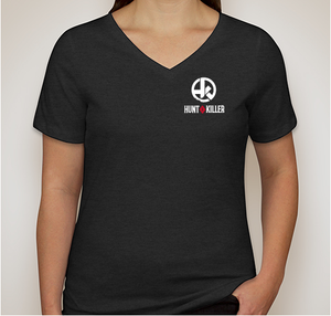 "Hunt A Killer: ""Join the Hunt"" Women's V-Neck Shirt"