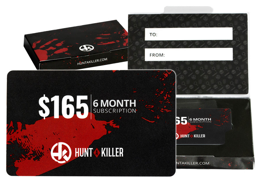 Hunt a Killer 6 Month Gift Card