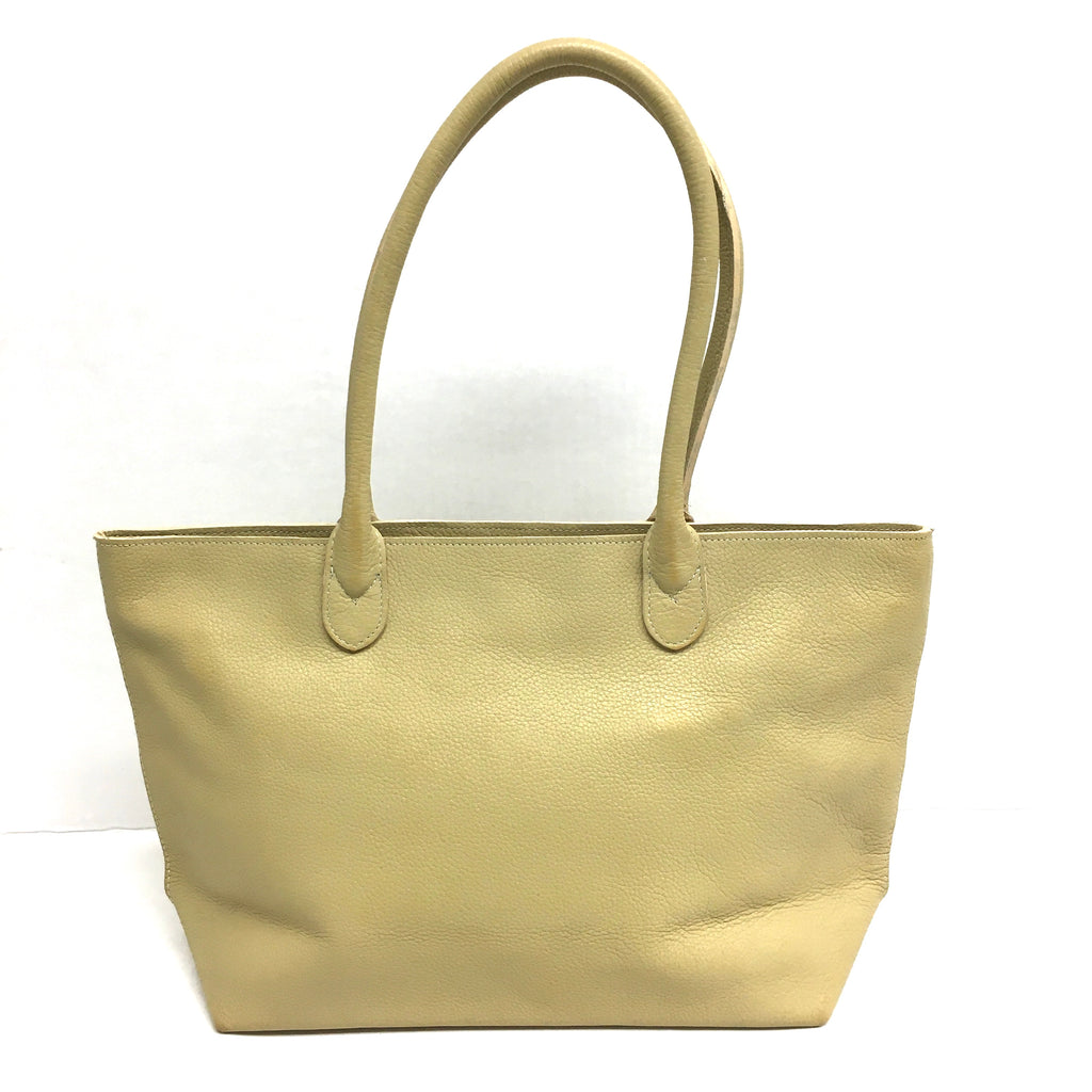 Leather Handbag - Celery Bag - Mashi Moosh