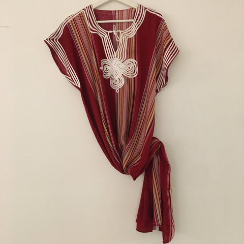 Kaftan - Striped (Light-weight) Caftan - Mashi Moosh