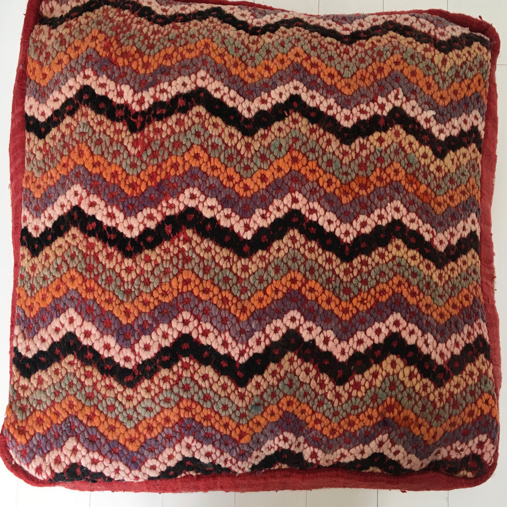 Kilim Floor Cushion/Pouffe - Mashi Moosh