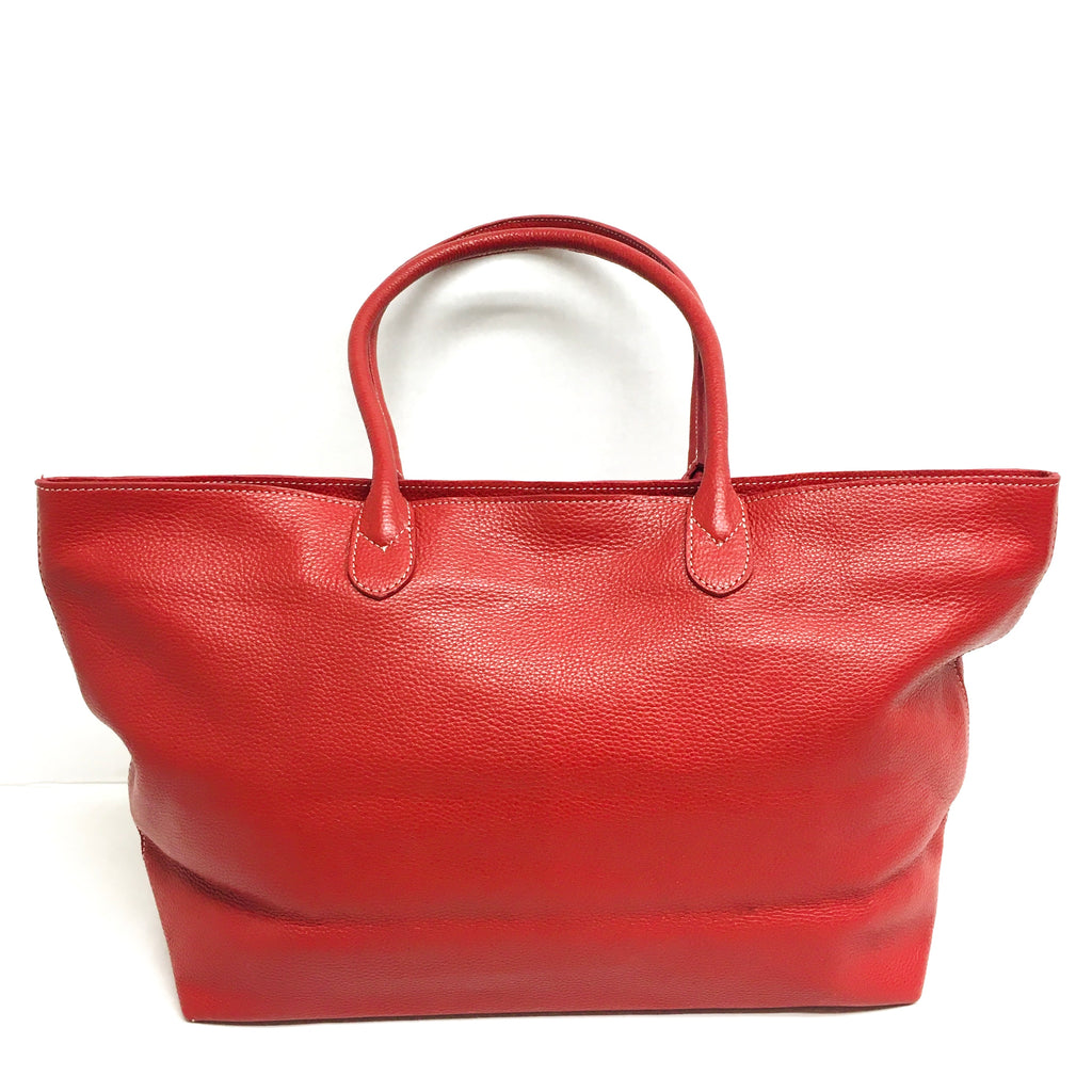 Leather Handbag - Maraschino Bag - Mashi Moosh