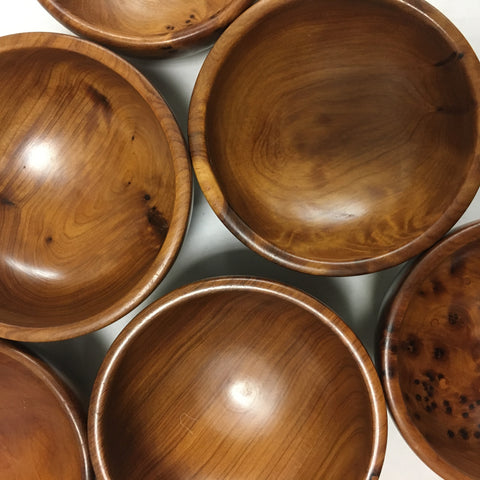 Mini Wood Bowls Wood Bowl - Mashi Moosh
